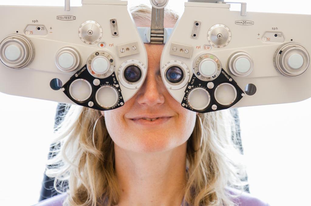 Phoropter Praxis und Augen-OP-Laser-Zentrum Dr. Dietrich Doepner