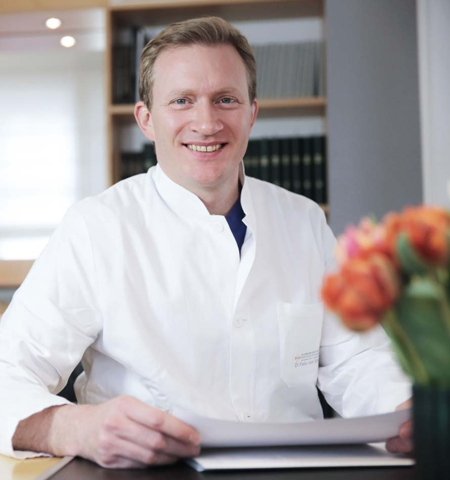 Felix Graf von Spiel Spezialist für Plastische Chirurgie und Lid-Operationen im Laser- und Augen-OP-Zentrum Dr. Doepner